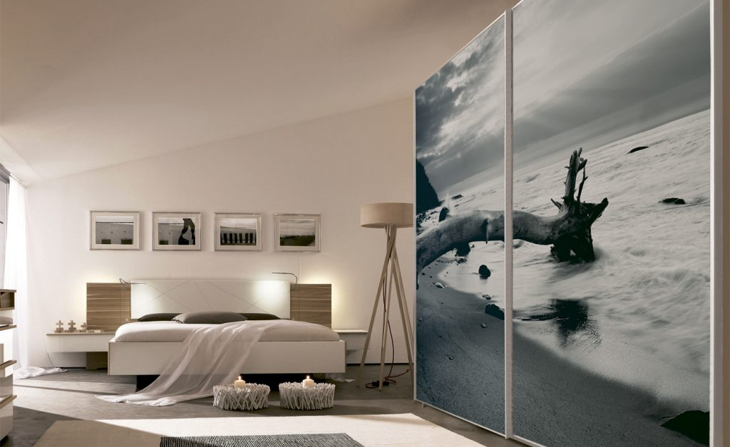 Ψηφιακή εκτύπωση ντουλάπας με θέμα Landscape